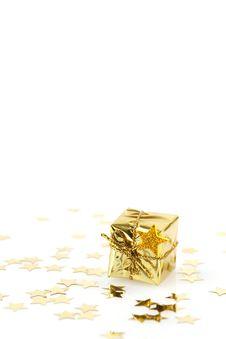 Free Golden Present Stock Photos - 15705513
