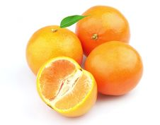 Free Tangerines  With Leaves Stock Image - 15705651