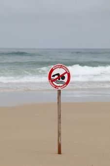 Free Swimming Prohibited Stock Image - 15705701