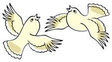 Free Singing Birds. Stock Photos - 15705953