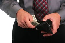 Free Businessman And Money Stock Photo - 15706100
