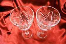 Free Two Glasses Royalty Free Stock Images - 15707019