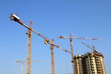 Free Cranes Stock Photography - 15707712
