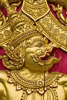 Free Thai Church Door Stock Photos - 15707883