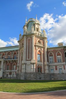 Palace In Tsaritsyno Stock Photos
