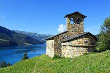Free Chapel And Lake Stock Photos - 15707963