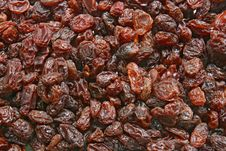 Dry Seedless Raisin Pattern Royalty Free Stock Photo