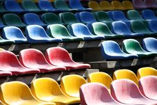 Free Stadium Seats Royalty Free Stock Photos - 15708848