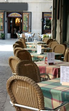 Free Outdoor Restaurant Terrace Stock Photo - 15708870