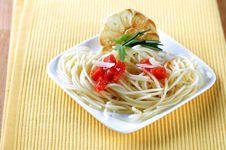 Free Pasta Appetizer Stock Image - 15708961