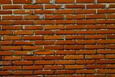 Free Old Wall From A Red Brick Royalty Free Stock Photos - 15709118