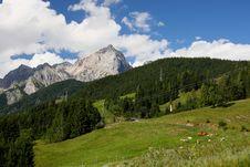 Alps - Maria Alm Royalty Free Stock Photos
