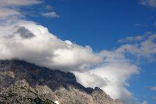 Alps - Maria Alm Stock Image