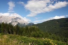Alps - Maria Alm Royalty Free Stock Photography