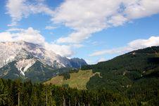 Alps - Maria Alm Stock Photos