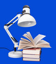 Free Table Lamp With Books Royalty Free Stock Photos - 15716948