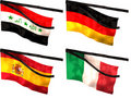 Free Mourning Flags Royalty Free Stock Photo - 15718835