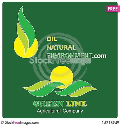 Free Environmental Company Logos Royalty Free Stock Images - 15718949