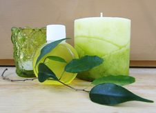 Free Green Spa Items Royalty Free Stock Images - 15710969