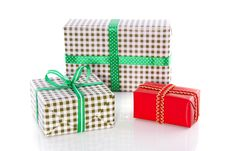 Free Gifts With Ribbons Royalty Free Stock Photos - 15711078