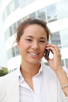 Free Businesswoman On The Phone Royalty Free Stock Image - 15711316