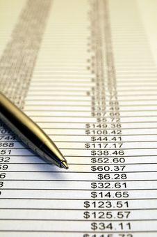 Free Financial Report 03 Stock Photos - 15711373
