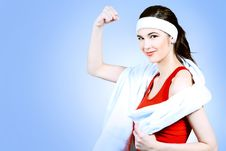Free Strong Woman Stock Photos - 15711473