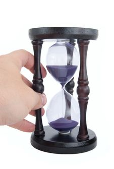 Free Old-fashioned Hourglass Stock Photography - 15711912