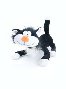 Sweet Cat Toy Stock Photo