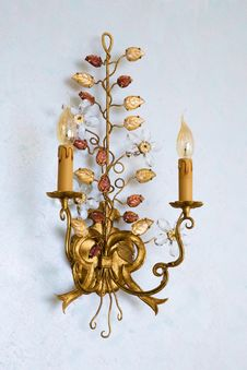 Free Beautiful Lamp Royalty Free Stock Image - 15711986