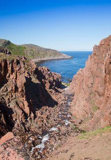 Free Coast Of Kola Peninsula. Royalty Free Stock Photos - 15712018