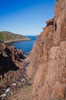 Free Coast Of Kola Peninsula. Stock Images - 15712044