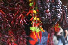 Free Bunch Of Chilli Peppers Of Different Colors Royalty Free Stock Photo - 15712315