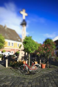 Free Bicycle In The Old Town Square Stock Photography - 15712492