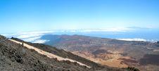 Volcano Of Tenerife Island. Stock Photo