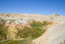 Free South Dakota Badlands Stock Photography - 15715882