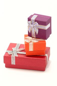 Free Gift Boxes Isolated Stock Image - 15715921