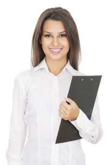 Free Young Business Woman Stock Photos - 15717163