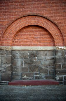 Free Brick And Stone Building Feature Royalty Free Stock Photo - 15717405