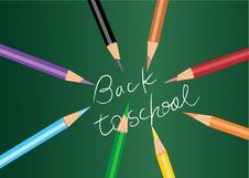 Free Back To School Poster Stock Images - 15717434
