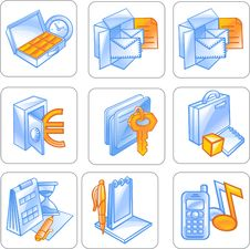 Free Business Icon. Stock Images - 15717714