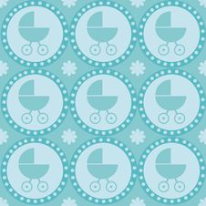 Free Baby Arrival Seamless Pattern Stock Photos - 15717773