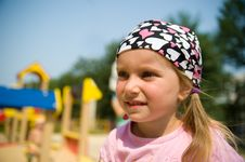 Free Close-up Little Girl On Outdoor Stock Photography - 15718062