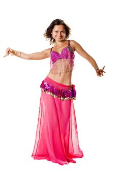 Free Belly Dancer Girl Royalty Free Stock Images - 15718339