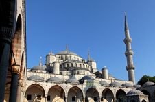 Free View Of Blue Mosque Royalty Free Stock Photo - 15718415