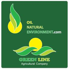 Environmental Company Logos Royalty Free Stock Images