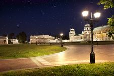 Free Park Tsaritsino In The Night Royalty Free Stock Image - 15719446