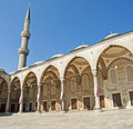 Free Inner Courtyard Of The Blue Mosque In Istanbul Stock Photos - 15720323