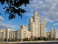 Free Moscow Stalin Large Apartment House Royalty Free Stock Images - 15720729