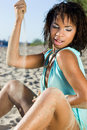 Free Woman At The Beach Royalty Free Stock Photo - 15722115